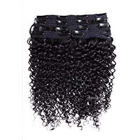 Brazilian Curly Clip In - Edgy Tresses