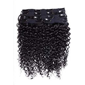 Curly Clip-Ins (1B) - Edgy Tresses