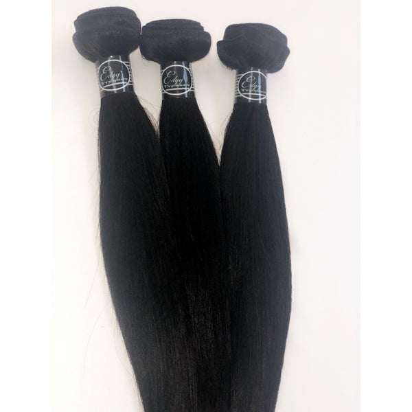 Brazilian Straight Hair - Edgy Tresses