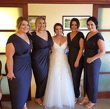 Carla dress by Pia Gladys Perey Perth Bridesmaids Dresses Perth Bridal Boutique