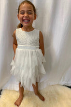 Harlow Flower Girl Dress Sleeveless Perth Flower Girl Dresses Lace Tutu Dress Perth