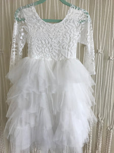 Harlow Long Sleeve Flower Girl Dress