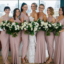 Ingrid Bridesmaids Dress Ingrid by Pia Gladys Perey Blush Bridesmaid Dress  Nora & Elle Bridesmaid Dresses Perth Evening Gowns Perth Ingrid Dress Perth Pia Gladys Perey Perth White Runway