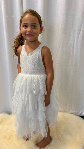 Lilah Flower Girl Dress Perth Flower Girl Dresses Long Lace Tutu Dress Ankle Length Flower Girl Dress Perth