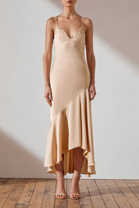 Luxe Bias Asymmetrical Slip Dress by Shona Joy Bridesmaid Dress Perth Shona Joy Bridesmaid Dresses Perth Luxe Range Dress Perth Bridesmaids Dresses