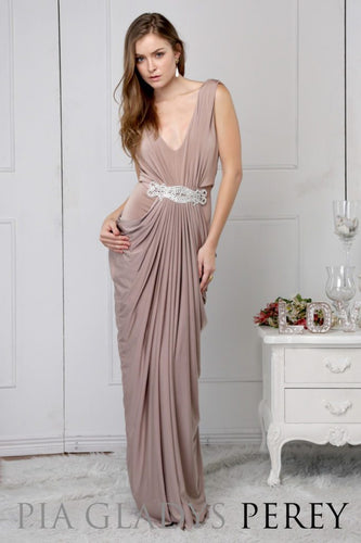 Helene dress by Pia Gladys Perey Perth Bridesmaids Dresses Perth Bridal Boutique