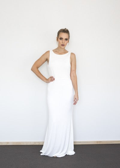 Elle dress by Pia Gladys Perey Perth Bridesmaids Dresses Perth Bridal Boutique