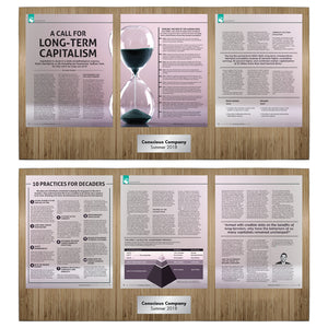 Conscious Company Magazine 6 Page Feature (2 Plaque Set)