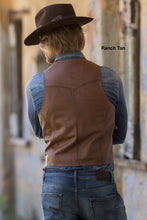 Man-Wearing-Leather-Vest-with-Buck-Stitch-Accents-by-Scully-206