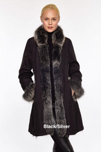 Reversible 3/4 Length Fur Jacket 9499