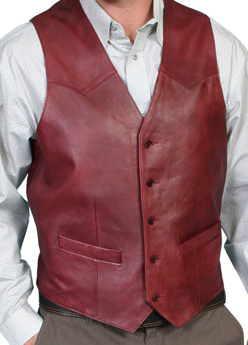 Man-Wearing-Black-Cherryeather-Vest-Western-Cut-by-Scully-503-179