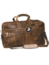 Load image into Gallery viewer, Aero-Squadron-Leather-Duffle-Bag-by-Scully