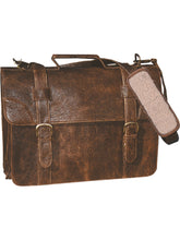 Load image into Gallery viewer, Aero-Squadron-Leather-Satchel-Briefcase-by-Scully-602
