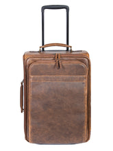 Load image into Gallery viewer, Aero-Squadron-Leather-Roller-Bag-by-Scully