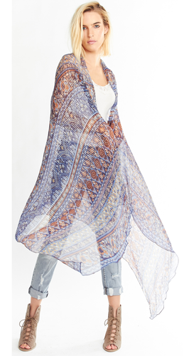 Blue Moon Shawl, One Size, ED18BC56145