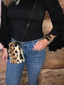 Beautiful-Woman-Carrying-Leopard-print-Leather-Purse-From-Linda-Richards-BG183-1