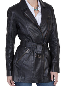 Women's-Black-Leather-Jacket-by-Scully-L330