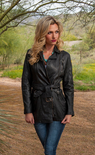 Beautiful-Woman-Wearing-Black-Leather-Jacket-by-Scully-L330