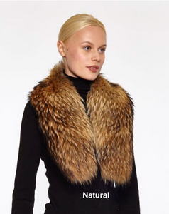 Collar Clip On in Genuine Fur, FC1, SALE!