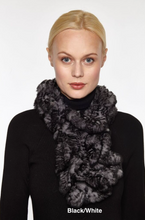 Beautiful-Woman-Wearing-Genuine-Fur-Pull-through-Scarf-From-Linda-Richards-RX39