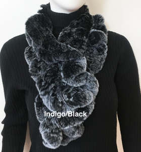 Pull Through Fur Scarf RX39