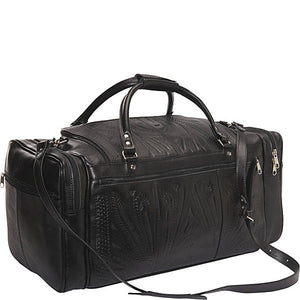 Hand-Tooled-Leather-Carry-On-Bag-by-Ropin-West-480L