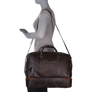 Hand-Tooled-Leather-Carry-on-Bag-by-Ropin-West-8394