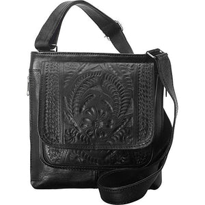 Hand-Tooled-Leather-Conceal-Carry-Cross-Body-Purse-by-Ropin-West-8495