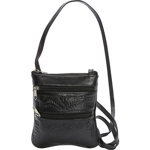 Hand-Tooled-Leather-Cross-Body-Purse-by-Ropin-West-8488