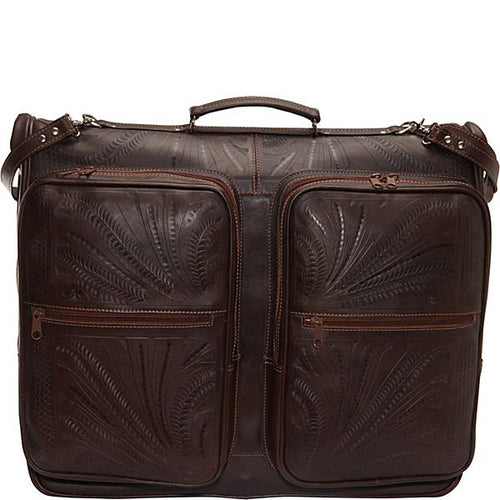 Hand-Tooled-Leather-Garment-Bag-by-Ropin-West-8058