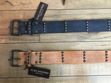 Leather Belt Hip Belt 101ST by Juan Antonio