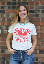Sweet-as-Strawberry-Wine-Ladies-Tee-Shirt-by-Bandit-Brand