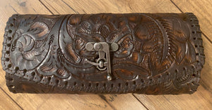 Tooled Mini Clutch-Crossbody 025TL, Color Options