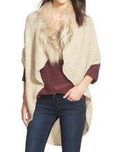 Linda-Richards-New-York-Beautiful-Woman-Wearing-Genuine-Fur-Trim-Shawl-by-Linda-Richards-KN32