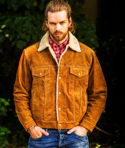 Man-Wearing-Suede-Leather-Shearling-Jacket-by-Scully-113