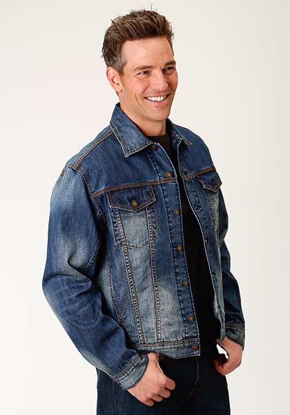 Mens-Blue-Denim-Jean-Jacket-by-Stetson-0670-7066