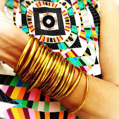 Gypsy Belles Temple Gold Lucky Bangles