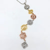 7 Chakras Necklace Gold