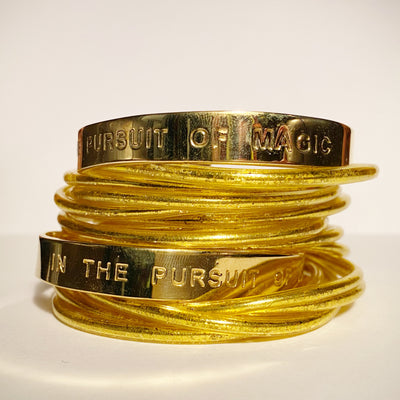 IN THE PURSUIT OF MAGIC- Unisex Bangle