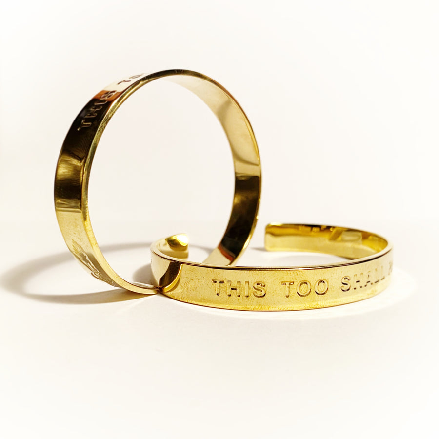 THIS TOO SHALL PASS - Unisex Bangle