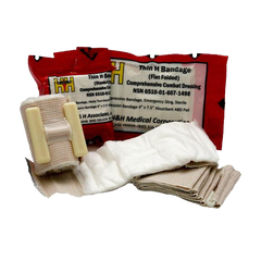 "Thin 4"" H-Bandage Compression Dressing"