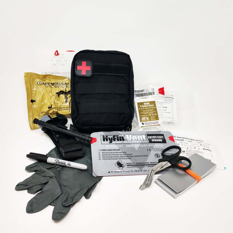 Operator Trauma Kit - Contents Only - Active Threat Solutions LLC