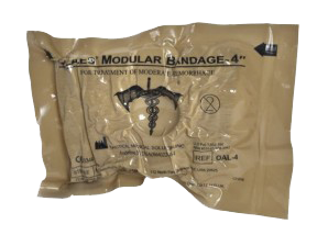 "OLAES Modular Bandage - 4"" Flat Pack - Active Threat Solutions LLC"