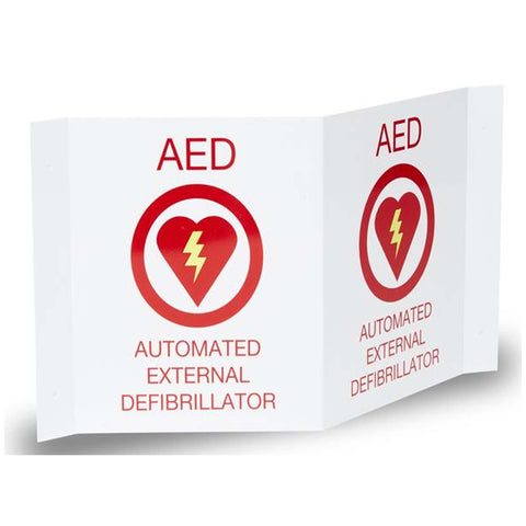 AED Plus 3-D Wall Sign - Active Threat Solutions LLC