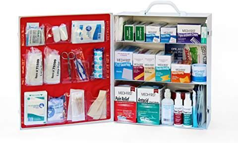 3-shelf First Aid Kit By Medique - Wall Mount