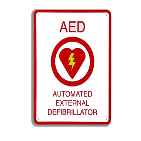 "AED Plus Wall Sign (81/2"" X 11"") - Active Threat Solutions LLC"