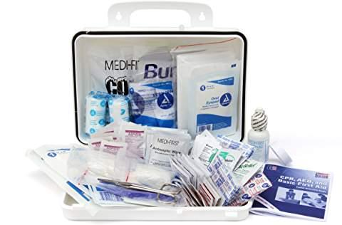 25 Person Class A First Aid Kit  By Medique - ANSI Plastic Case