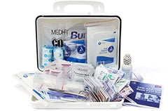 25 Person Class A First Aid Kit  By Medique -Standard Plastic Case