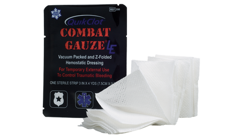 Quik Clot Combat Gauze LE SALE!!! - Active Threat Solutions LLC