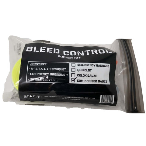 STAT Bleed Control Pocket Kit - Active Threat Solutions LLC